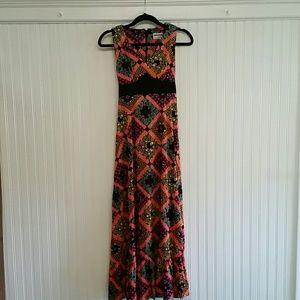 Vintage Meleny Road by Sylvia Madon Boho Dress